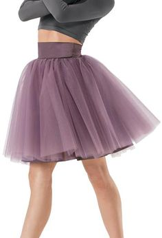 High Waisted Satin Tulle Romantic Tutu | Balera™