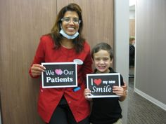 Seeing our patients smile is the highlight of our day. Give us a call today at (336) 804-8668 and schedule an appointment.  #DentistGreensboro