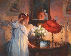 Albert Chevallier Tayler-+The Mirror+1914.jpg