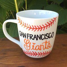 SF Giants Mug San Francisco Giants Baseball Mug by 1ChiqueStop