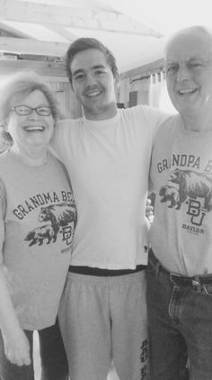 Grandma and Grandpa Bear! Love a good Baylor family. #SicEm