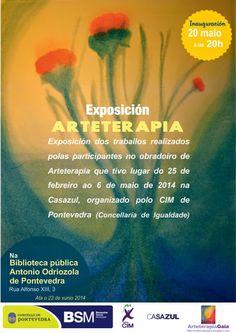 Arteterapia Gea: Nueva exposición de Arteterapia en Pontevedra