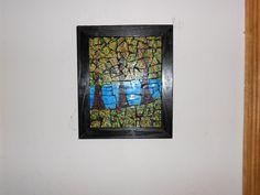 alcohol inked mosaic