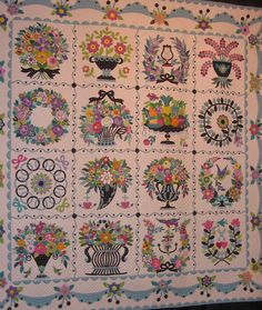 All sizes | Baltimore Album Quilt IV | Flickr - Photo Sharing!