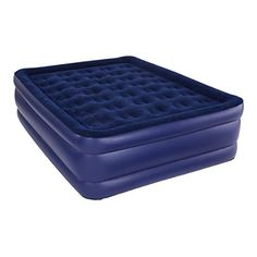 Pure Comfort Queen Raised Flock Top Air Bed >>> For more information, visit image link.(This is an Amazon affiliate link and I receive a commission for the sales)