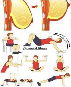 Ćwiczenia na jędrny biust. #weights