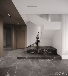 New luxury is a modern individuality, progressive design and functionality. Staircase Interior Design, Wardrobe Interior Design, Corridor Design, Home Stairs Design, Stairs Architecture, Home Room Design, Interior Design Studio, Interior Architecture, Contemporary Interior Design