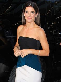 The fans got what they were waiting for! Sandra Bullock stuns on the red carpet at the Toronto International Film Festival premiere of her buzzy new movie, Gravity. http://www.people.com/people/gallery/0,,20732290,00.html