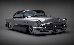 In the 50's Buicks rivaled Cadillac for style and class. Lowered they make the perfect Kustom.