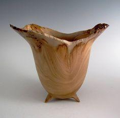 Red Elm Wood Turned Bowl - Wood Bowl - Wooden Bowl - Decorative Wood Bowl - Wedding Gift - Birthday Gift - Hand Turned Wood Bowl- OOAK by JLWoodTurning on Etsy