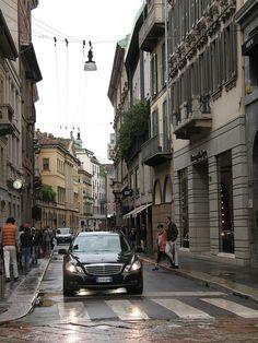 Via Montenapoleone, Milan, Italy