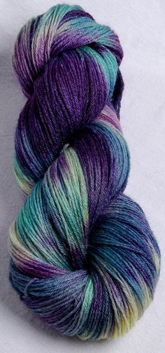 Provence - Kettle dyed SW Bamboo /Merino Superwash fingering by YummyYarnsUK, £13.80