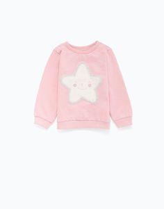 cute star baby girl sweater LEFTIES