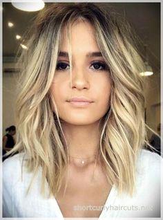 New Hair Bob Hairstyles Lob Haircut Ideas Lob Haircut 2018, Haircut Bob, Lob Haircut Round Face, Haircut Short, Longer Lob Haircut, Haircut Styles, Lobb Haircut, Long Angled Haircut, Angeled Bob Haircut