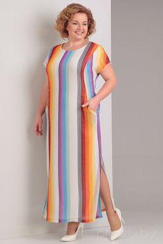 Платье Диамант 1090 мультиколор
