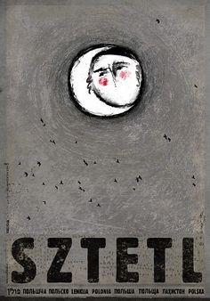 Sztetl.Zobacz też inne plakaty z serii PLAKAT-POLSKA Oryginalny polski plakatautor plakatu: Ryszard Kaja  data druku: 2016 wymiary plakatu: B1, 68x98cm