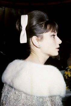 "missingaudrey: ""Audrey Hepburn photographed during the Le Bal des Petits Lits Blancs in Le Havre, France, on January 14, 1962. """