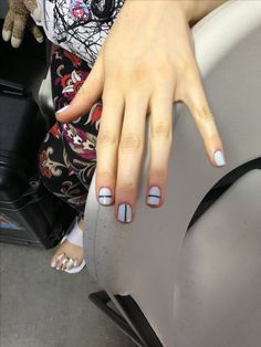 Nails by Jin Soon at Tibi {a tribal symbol meaning alright} brilliant
