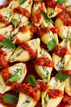 Cozinhando com amigos: Conchiglione com Ricota e Nozes