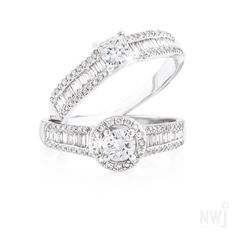 Diamond Collection: Diamond Rings By NWJ *Valid for 2013 Gold Jewelry, Jewelry Accessories, Fine Jewelry, Jewellery, Diamond Rings, Diamond Engagement Rings, White Gold Rings, Silver Rings, Swarovski Ring