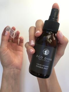 Our Liquid Vitamin Hydra Mist is such a skin treat. 💦  Packed with superfood vitamins that offer your skin the most wonderful nutrients to refresh, uplift, hydrate & glow.   Benefits: Supplements the skin's protective barrier by creating an active antioxidant shield. Protects from free-radical damage & reveals a fresh, radiant, hydrated complexion. Anti-aging. Liquid Vitamins, Vitamins For Skin, Natural Vitamins, Skin Polish, Dry Well, Oil Water, Skin Food, Face Serum, Face Wash