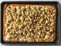 Sheet Pan Roasted Cauliflower Pizza