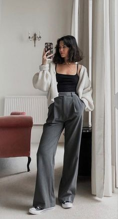 Retro Outfits, Cute Casual Outfits, Vintage Outfits, Simple Outfits, Stylish Outfits, Look Fashion, Korean Fashion, Tween Fashion, Teen Fashion Outfits