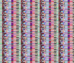 Tribal Stripes fabric by floramoon_designs on Spoonflower - custom fabric