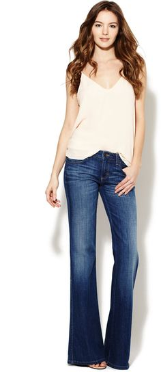 Anita Bohemian Flared Jean.. love flared jeans! Where have they all gone..