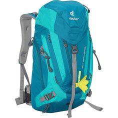 387053688d Deuter ACT Trail 22 SL Hiking Backpack Petrol Mint Deuter Day Hiking  Backpacks