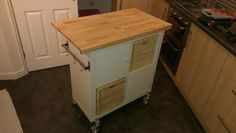 IKEA Hackers: Easy Expedit Kitchen Island