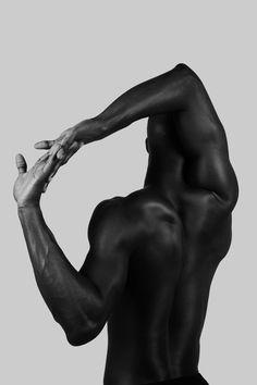 "black-boys: "" Christopher with Ursula Wiedmann Models shot by pande """