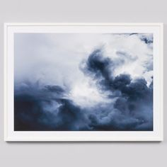 Framed Print Winter Storm