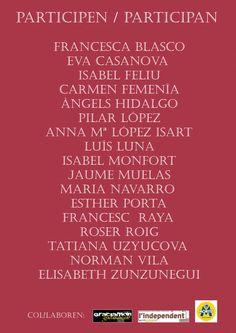 Isabel Monfort.  Exposición en la que participo en Galeria de Arte Paspartu en Barcelona - Gracia