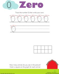 Worksheets: Tracing Numbers & Counting: 0 There are worksheets available for numbers and for the teen numbers as well. Kindergarten Math Worksheets, Number Worksheets, Tracing Worksheets, Preschool Math, Kindergarten Reading, Maths, Education Quotes For Teachers, Parents As Teachers, Number Tracing