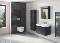 The Angelo Series from Tissino: A beautiful sculpted sanitaryware with exciting and practical bathroom storage.