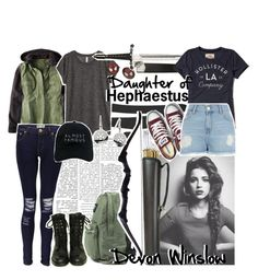 """Request; Devon Winslow daughter of Hephaestus"" by squidney12 ❤ liked on Polyvore featuring NARS Cosmetics, Nordstrom, American Eagle Outfitters, H&M, Boohoo, Chanel, Nasaseasons, Converse, Hollister Co. and River Island"