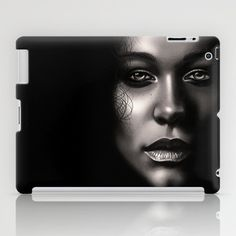 Portrait iPad Case by TawnART - $60.00