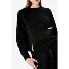 Martine Rose sweatshirt (1 495 PLN) ❤ liked on Polyvore featuring tops, hoodies, sweatshirts, pattern tops, patterned sweatshirts, print sweatshirt, oversized sweatshirt and print top