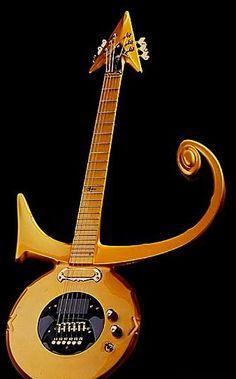 gold prince guitar
