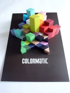 ColorMatic- Shoe Branding Campaign by Elroy Chong, via Behance