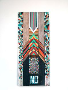 Interesting use of gemotric shapes and text from the series of indecision by Richard Pearse Wordpress, Nz Art, Maori Art, Crazy Patchwork, Glitch Art, Pattern Images, Modern Artists, Modern Graphic Design, Design Art