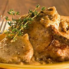 Old Fashioned Smothered Pork Chops and Potatoes on BigOven: Pork Chops slow cooked in a rich gravy with potatoes.