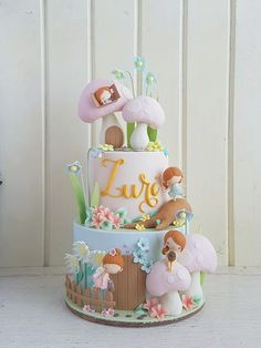 Extraordinary Baby Shower Cakes Because parenting doesn't come with a guide> > > Extraordinary Baby Shower CakesExtraordinary Baby Shower CakesThis post may contain affi Baby Cakes, Baby Shower Cakes, Girly Cakes, Cute Cakes, Cupcake Cakes, Fondant Cakes Kids, Fairy Birthday Cake, Baby Birthday Cakes, Happy Birthday