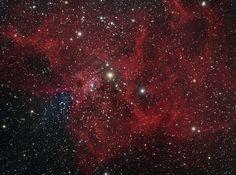 El catálogo Sharpless: la Nebulosa de la Araña (Sharpless 234) es una región de formación de estrellas. Se encuentra a unos 7.500 años-luz de distancia del Sistema Solar. #astronomia #ciencia