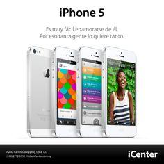 iPhone 5.  Las personas que tienen un iPhone lo aman, no solo por la pantalla Retina, la cámara asombrosa, o la batería de alta duración. Son todas esas cosas, sumadas al hecho de que el iPhone es muy fácil de usar.