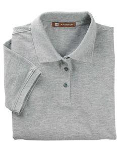 973508401b265 Easy Blend Polo - GREY HEATHER - XL M265W-simple