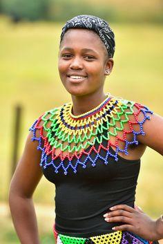 young woman from KwaZulu-Natal, South Africa African Tribes, African Diaspora, African Women, African Beauty, African Fashion, Beautiful Black Women, Beautiful People, Zulu Women, Afro