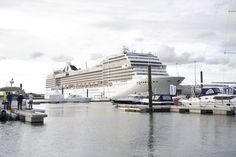 MSC Poesia - Maiden Call in Southampton