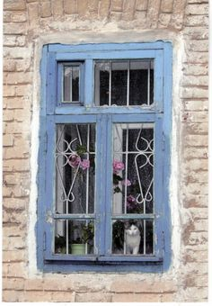 Old Russian House Window
